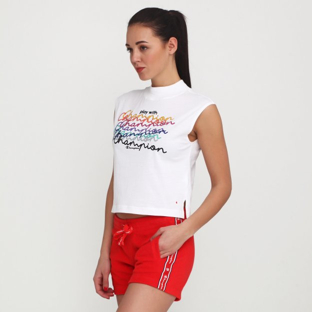 Майка Champion Crewneck Sleeveless T-Shirt - MEGASPORT