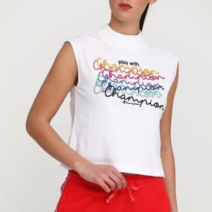 Майка Champion Crewneck Sleeveless T-Shirt - 115833, фото 4 - интернет-магазин MEGASPORT
