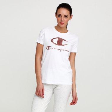 Футболки champion Crewneck T-Shirt - 115846, фото 1 - интернет-магазин MEGASPORT