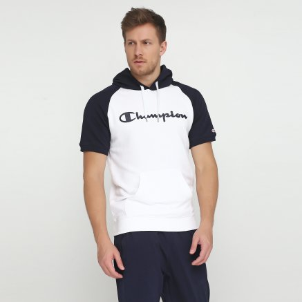 Кофта Champion Hooded Short Sleeves Sweatshirt - 115878, фото 1 - интернет-магазин MEGASPORT