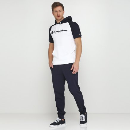Кофта Champion Hooded Short Sleeves Sweatshirt - 115878, фото 2 - интернет-магазин MEGASPORT