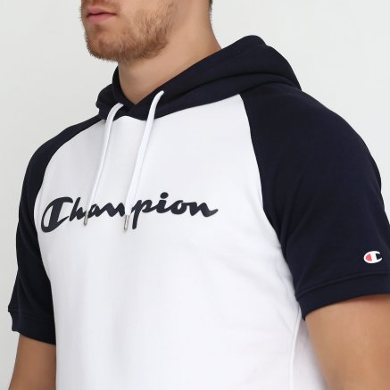 Кофта Champion Hooded Short Sleeves Sweatshirt - 115878, фото 4 - интернет-магазин MEGASPORT