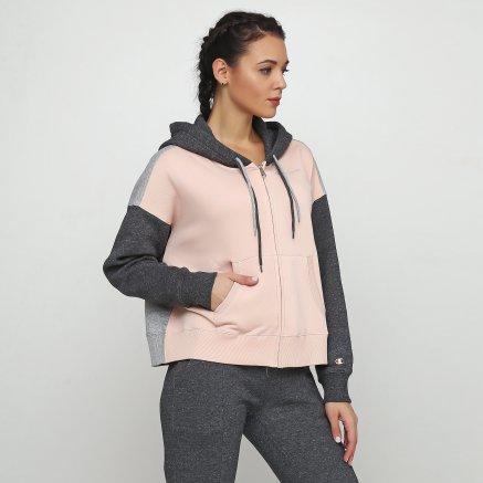 Кофта Champion Hooded Full Zip Sweatshirt - 118653, фото 1 - інтернет-магазин MEGASPORT