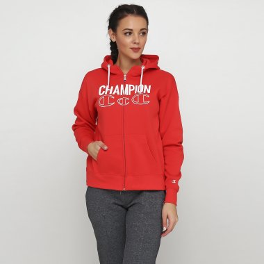 Кофты champion Hooded Full Zip Sweatshirt - 118658, фото 1 - интернет-магазин MEGASPORT