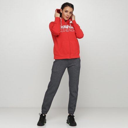 Кофта Champion Hooded Full Zip Sweatshirt - 118658, фото 2 - інтернет-магазин MEGASPORT