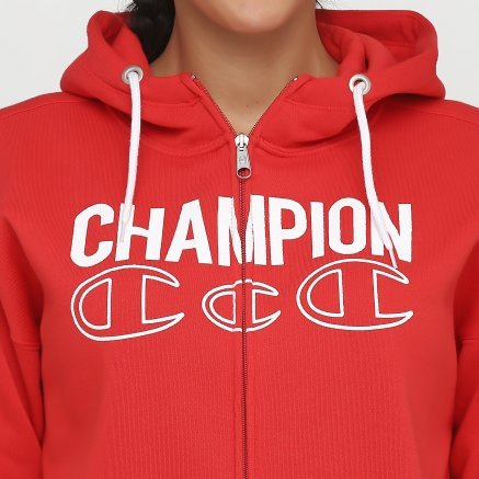 Кофта Champion Hooded Full Zip Sweatshirt - 118658, фото 5 - інтернет-магазин MEGASPORT