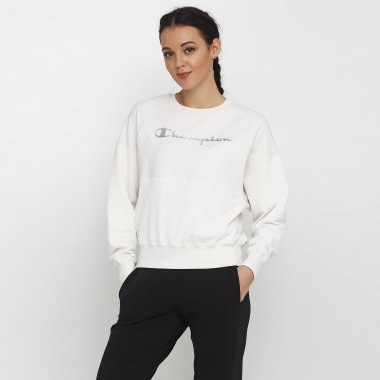 Кофты champion Crewneck Sweatshirt - 118660, фото 1 - интернет-магазин MEGASPORT