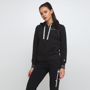Кофты champion Hooded Full Zip Sweatshirt - 118663, фото 1 - интернет-магазин MEGASPORT