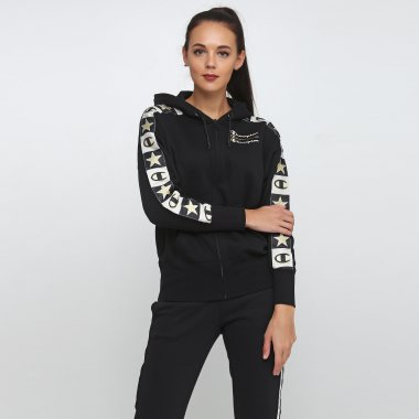 Кофты champion Maxi Hooded Full Zip Sweatshirt - 118679, фото 1 - интернет-магазин MEGASPORT