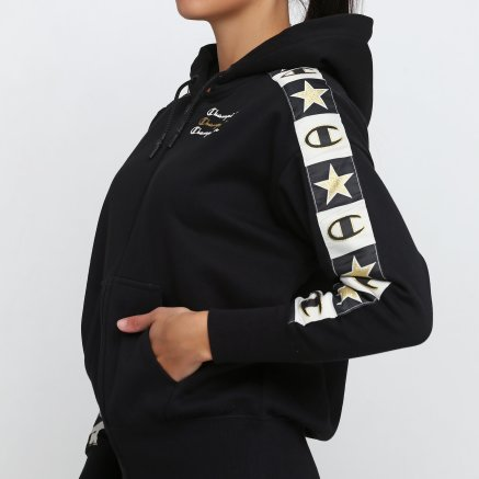 Кофта Champion Maxi Hooded Full Zip Sweatshirt - 118679, фото 4 - інтернет-магазин MEGASPORT