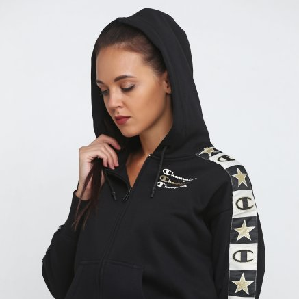 Кофта Champion Maxi Hooded Full Zip Sweatshirt - 118679, фото 5 - интернет-магазин MEGASPORT