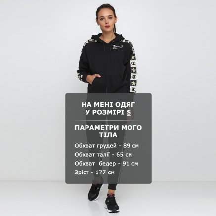 Кофта Champion Maxi Hooded Full Zip Sweatshirt - 118679, фото 6 - интернет-магазин MEGASPORT