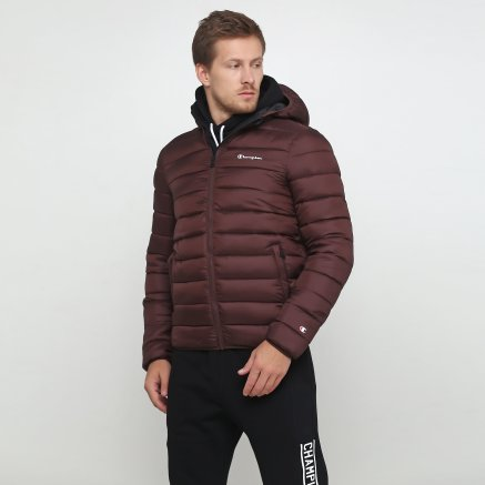 Куртка Champion Hooded Jacket - 118713, фото 1 - интернет-магазин MEGASPORT