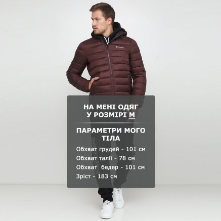 Куртка Champion Hooded Jacket - 118713, фото 6 - интернет-магазин MEGASPORT