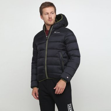Пуховики champion Hooded Jacket - 118719, фото 1 - интернет-магазин MEGASPORT