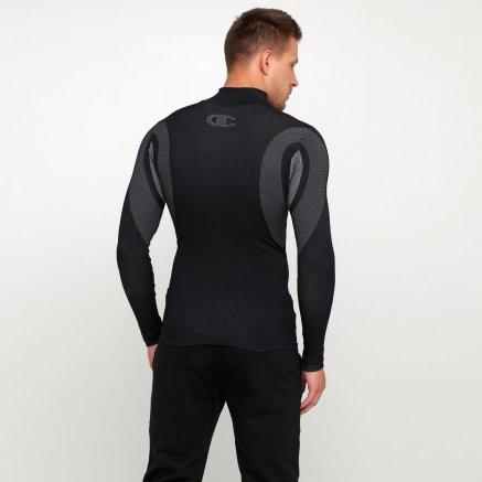 Компресійні футболки Champion Turtle Neck Long Sleeves T-Shirt - 118743, фото 3 - інтернет-магазин MEGASPORT