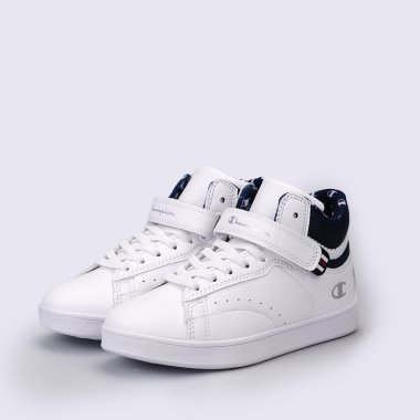 Кеды champion Mid Cut Shoe 3 Point B Ps - 118645, фото 1 - интернет-магазин MEGASPORT