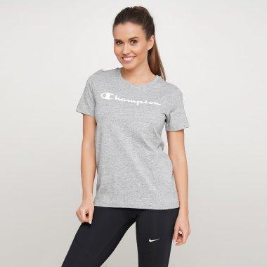 Футболки champion Crewneck T-Shirt - 121573, фото 1 - интернет-магазин MEGASPORT