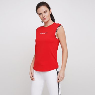 Майки champion Crewneck Sleeveless T-Shirt - 121602, фото 1 - интернет-магазин MEGASPORT