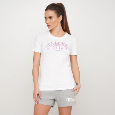 Футболки champion Crewneck T-Shirt - 121604, фото 1 - интернет-магазин MEGASPORT