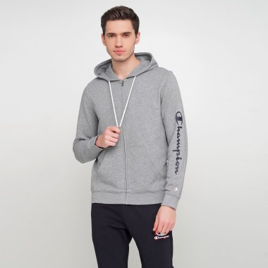 Кофти champion Hooded Full Zip Sweatshirt - 121630, фото 1 - інтернет-магазин MEGASPORT