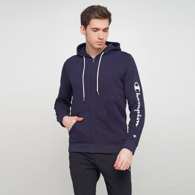 Кофти champion Hooded Full Zip Sweatshirt - 121631, фото 1 - інтернет-магазин MEGASPORT