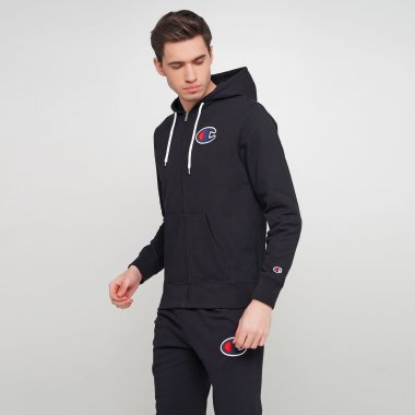 Кофти champion Hooded Full Zip Sweatshirt - 121643, фото 1 - інтернет-магазин MEGASPORT