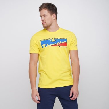 Футболки champion Crewneck T-Shirt - 121672, фото 1 - интернет-магазин MEGASPORT