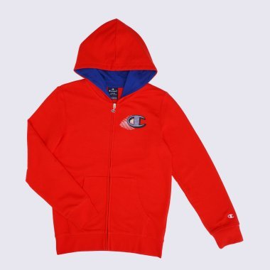Кофти champion Hooded Full Zip Sweatshirt - 121713, фото 1 - інтернет-магазин MEGASPORT