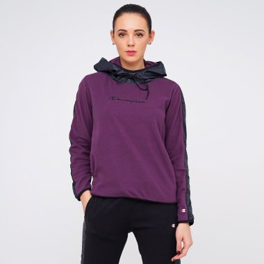 Кофты champion Hooded Full Zip Sweatshirt - 124979, фото 1 - интернет-магазин MEGASPORT