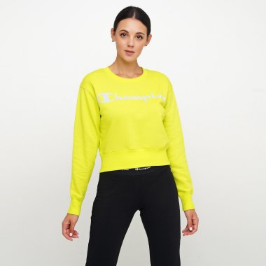 Кофты champion Crewneck Sweatshirt - 124986, фото 1 - интернет-магазин MEGASPORT