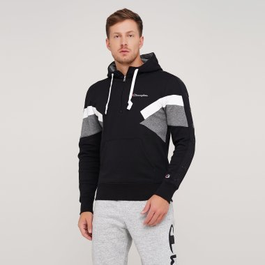 Кофти champion Half Zip Hooded Sweatshirt - 125013, фото 1 - інтернет-магазин MEGASPORT