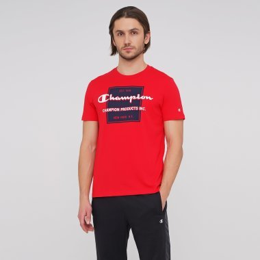 Футболки champion Crewneck T-Shirt - 127480, фото 1 - інтернет-магазин MEGASPORT