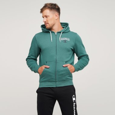 Кофти champion Hooded Full Zip Sweatshirt - 125025, фото 1 - інтернет-магазин MEGASPORT