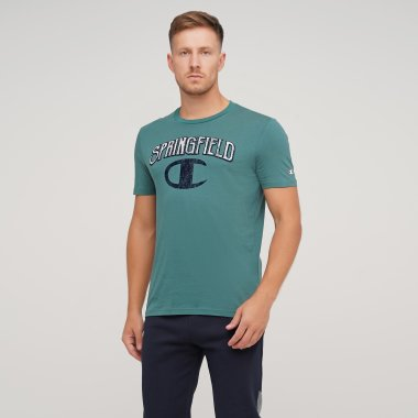 Футболки champion Crewneck T-Shirt - 125028, фото 1 - інтернет-магазин MEGASPORT