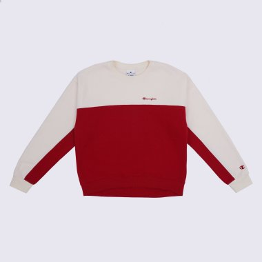 Кофты champion Crewneck Sweatshirt - 125079, фото 1 - интернет-магазин MEGASPORT