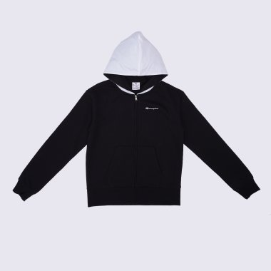 Кофты champion Hooded Full Zip Sweatshirt - 125080, фото 1 - интернет-магазин MEGASPORT