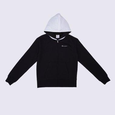 Кофти champion Hooded Full Zip Sweatshirt - 125080, фото 1 - інтернет-магазин MEGASPORT
