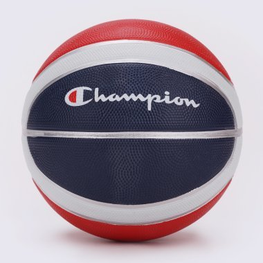М'ячі і Насоси champion Basketball Rubber - 115804, фото 1 - інтернет-магазин MEGASPORT