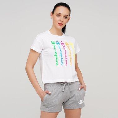 Футболки champion Crewneck T-Shirt - 128049, фото 1 - інтернет-магазин MEGASPORT