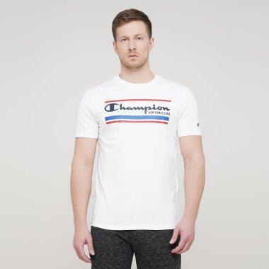 Футболки champion Crewneck T-Shirt - 128085, фото 1 - інтернет-магазин MEGASPORT