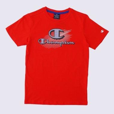 Футболки champion Crewneck T-Shirt - 121718, фото 1 - интернет-магазин MEGASPORT