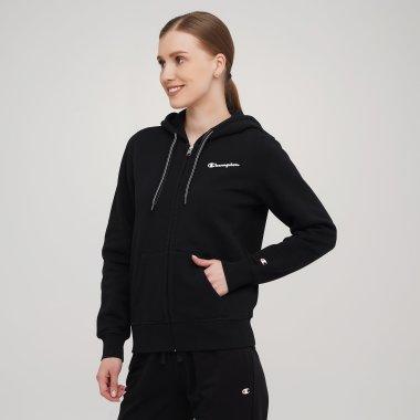 Кофти champion Hooded Full Zip Sweatshirt - 141298, фото 1 - інтернет-магазин MEGASPORT