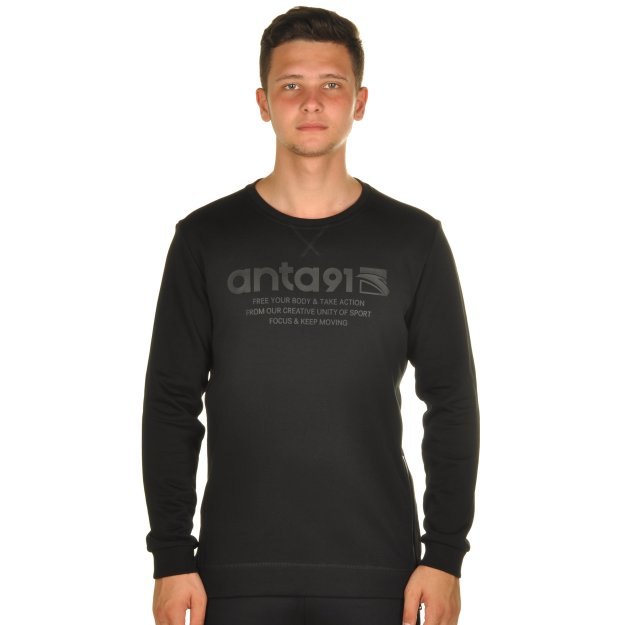 Кофта Anta Sweat Shirt - MEGASPORT