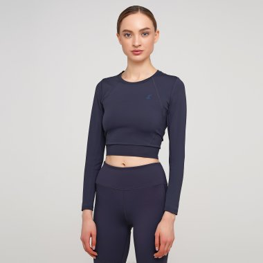Футболки lagoa women's  long sleeve crop top - 135693, фото 1 - интернет-магазин MEGASPORT