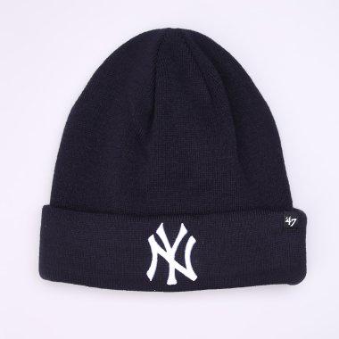 Шапки, Шарфи, Пов'язки 47-brand Recluse Cuff Knit Yankees - 112711, фото 1 - інтернет-магазин MEGASPORT