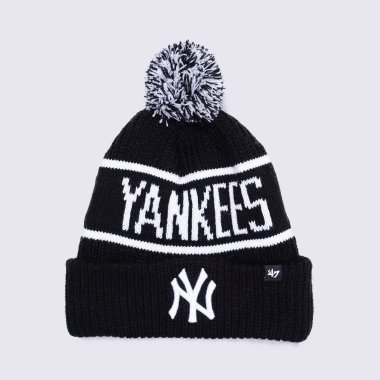 Шапки 47-brand Calgary Cuff Knit New York Yankees - 120382, фото 1 - інтернет-магазин MEGASPORT