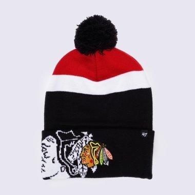 Шапки 47-brand Mokema Chicago Blackhawks - 126270, фото 1 - інтернет-магазин MEGASPORT