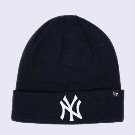 Шапка 47 Brand Raised Cuff Knit New York Yankees - 120394, фото 1 - интернет-магазин MEGASPORT