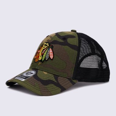 Кепки и Панамы 47-brand Nhl Chicago Blackhawks Camo Branson - 123035, фото 1 - интернет-магазин MEGASPORT